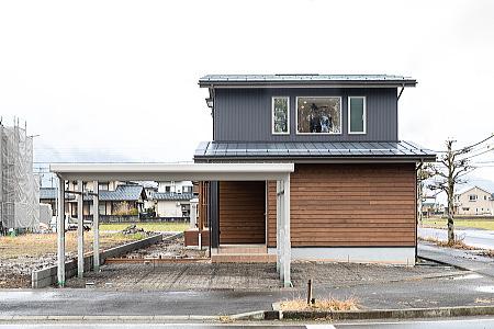 2020年12月あまや製材新築住宅完成現場見学会開催 外観写真