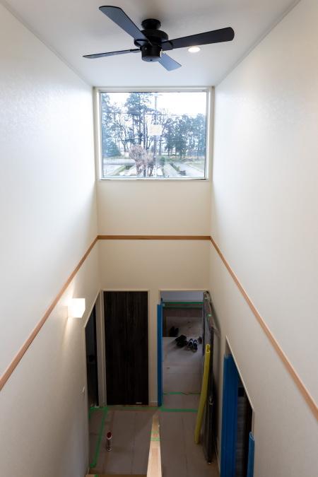 2020年12月あまや製材新築住宅完成現場見学会開催 内観写真その1